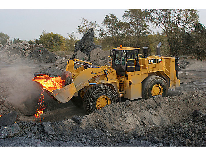 988K Large Wheel Loader - Steel Mill Arrangement