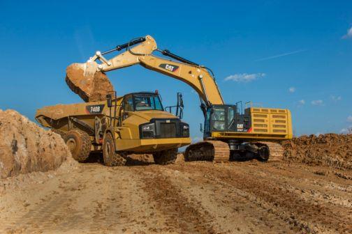 374F L - Large Excavators