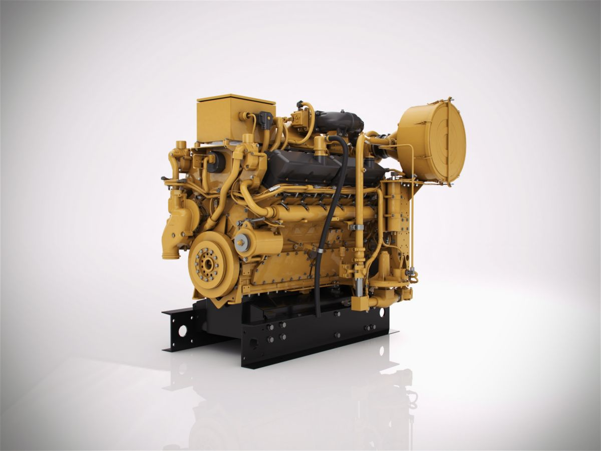 CG137-12 Gas Compression Engine