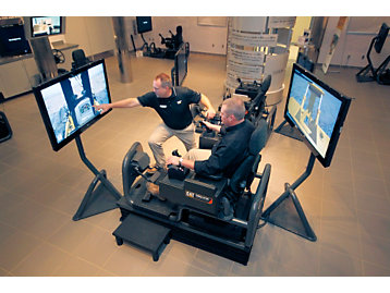 Cat® Simulator Operator Training