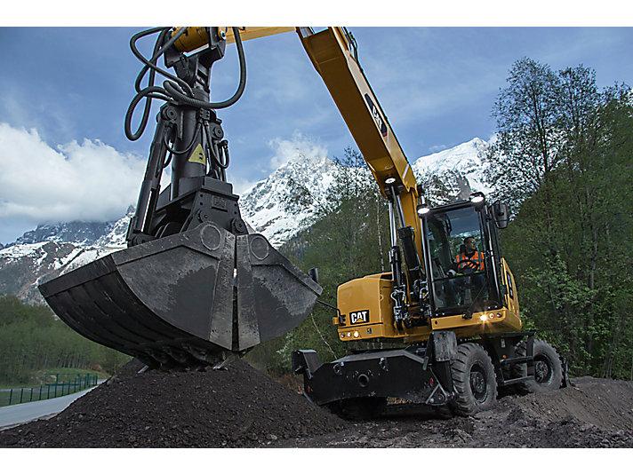 Excavadora de Ruedas M320F