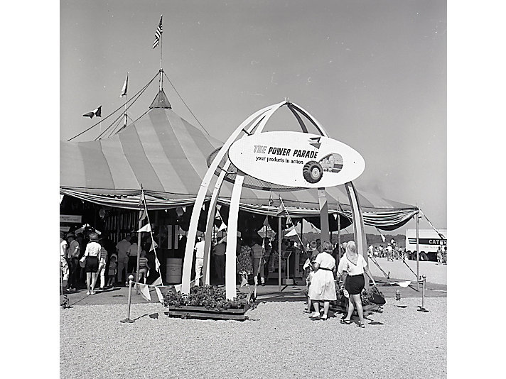 The entrance to the first Power Parade in 1964