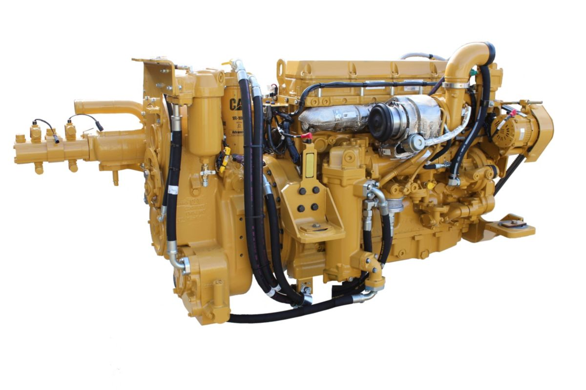 Power Train – Engine – The Cat C11 engine is designed for power, reliability and efficiency.