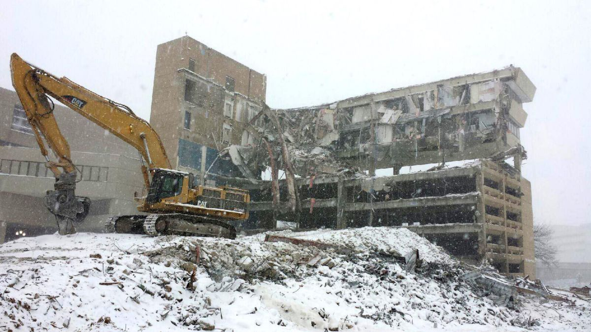 "Cat® Excavators Serve as the ""Swiss Army Knife"" of Machines for Demolition Company"