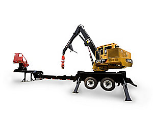 529 Trailer Mount Knuckleboom Loaders
