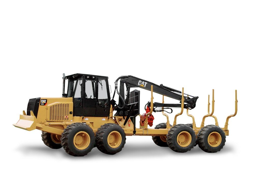 New CaterpillarForwarders