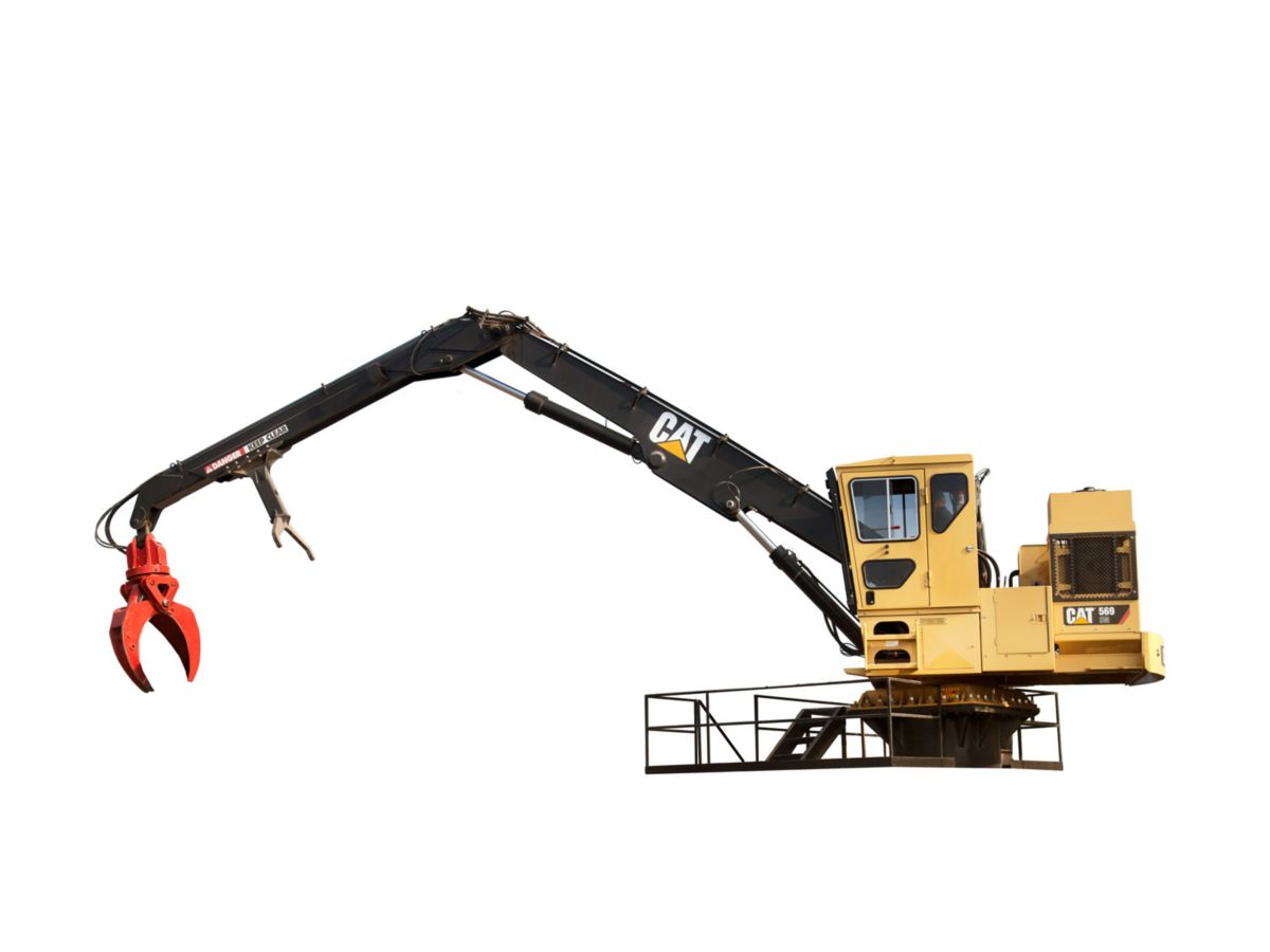 569 SM/EHC Stationary Mount Knuckleboom Loader
