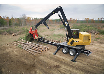 Top 10 Features of the Cat® C Series Knuckleboom Loaders