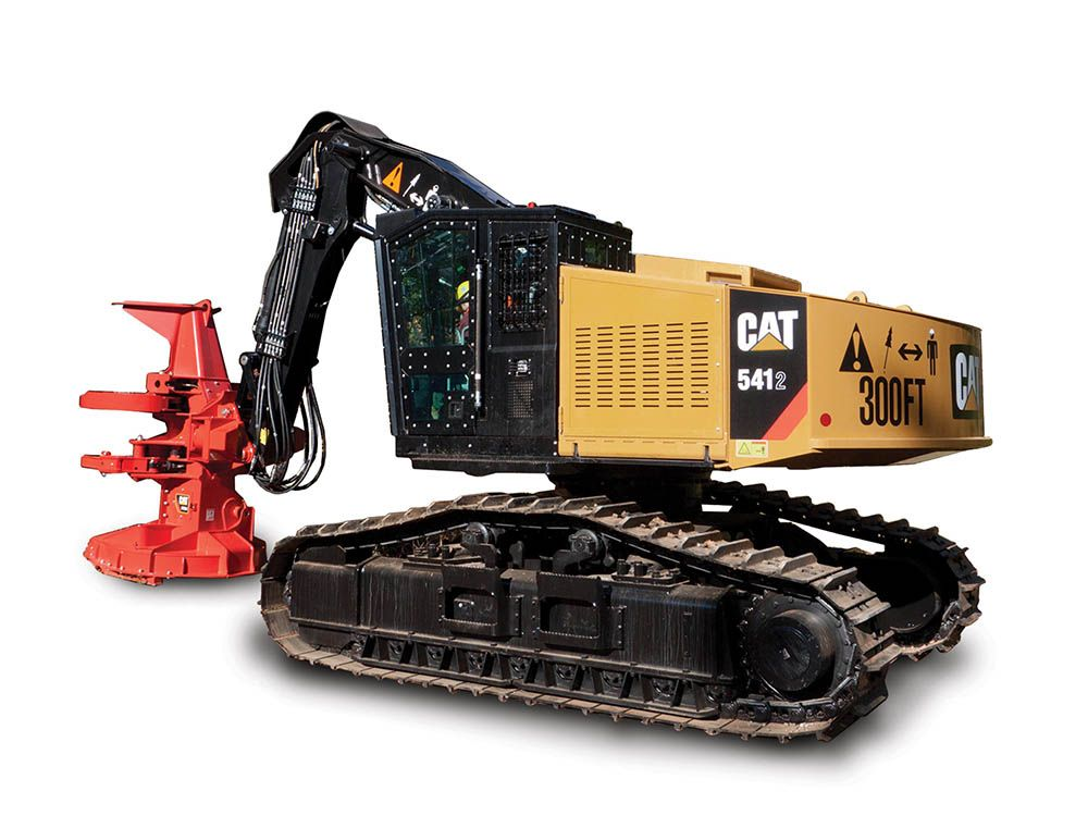 552 Series 2 Track Feller Buncher