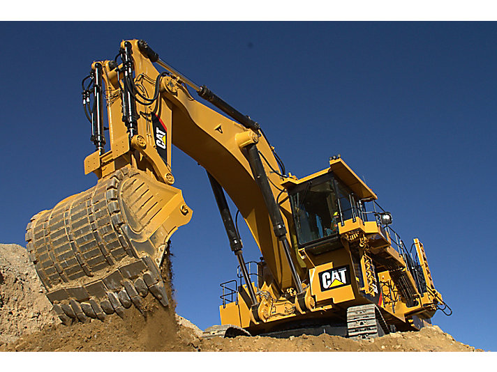 6020B hydraulische mijnbouwshovel