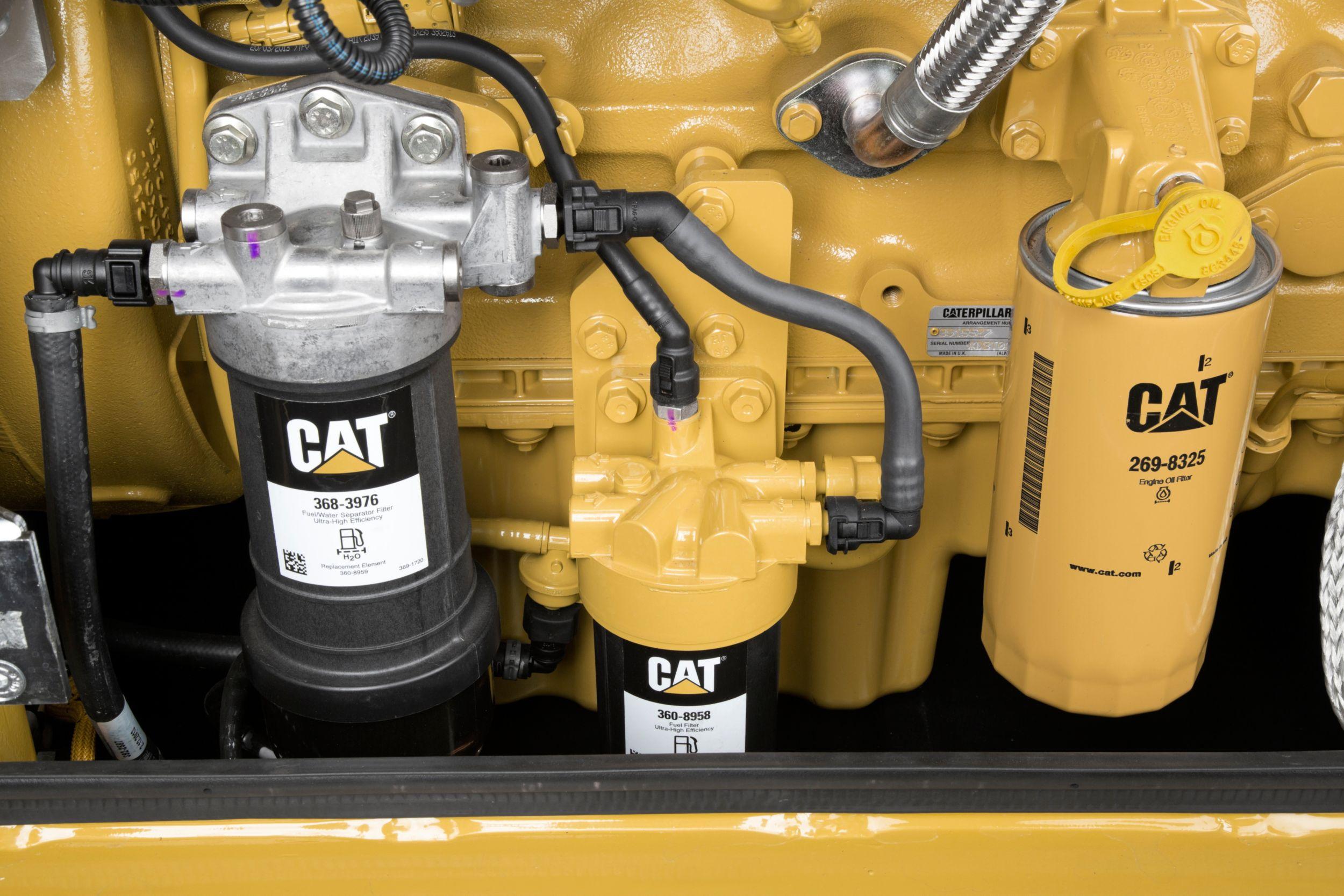 M318f Wheeled Excavator 3976 Fuel Filter Serviceability