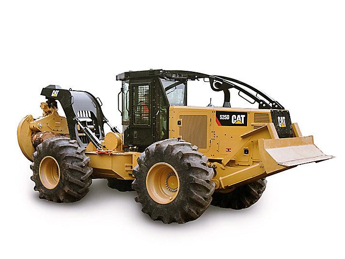 Tracteur débardeur sur pneus525D