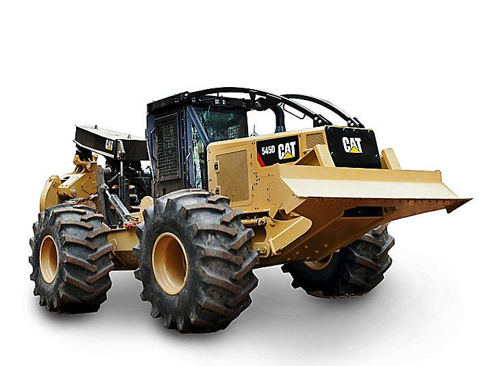 Tracteur débardeur sur pneus545D