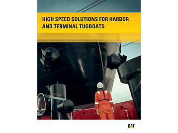 High Speed Solutions for Harbor &Terminal Tugboats