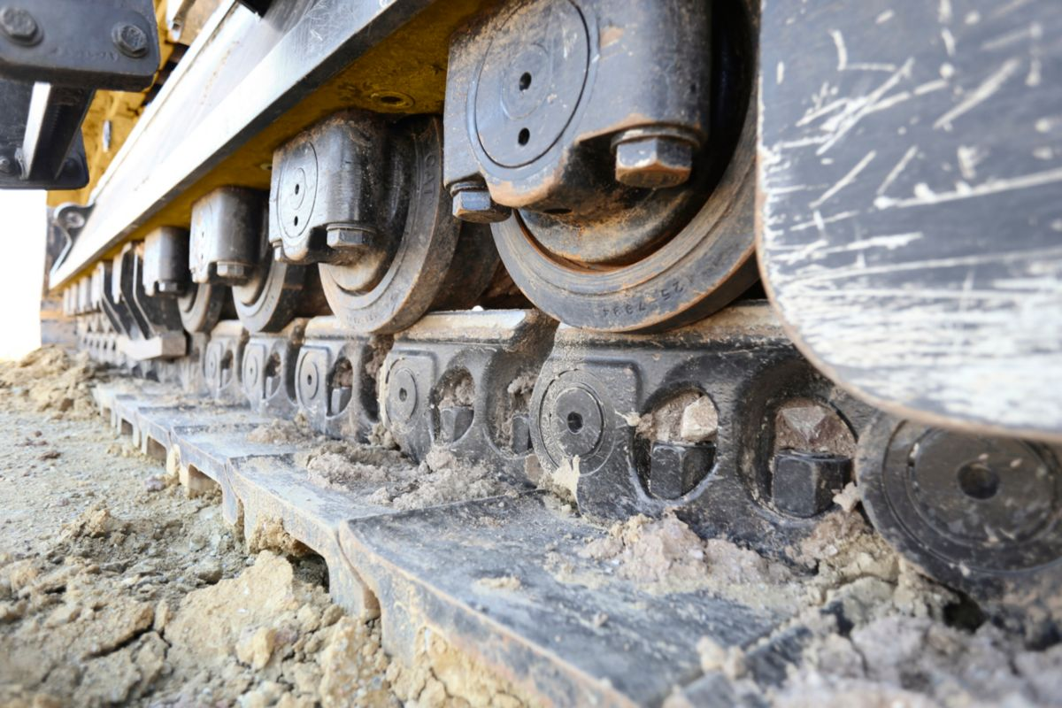Tracks Designed for High-Impact and High-Travel Applications, Like Mining and Heavy Construction