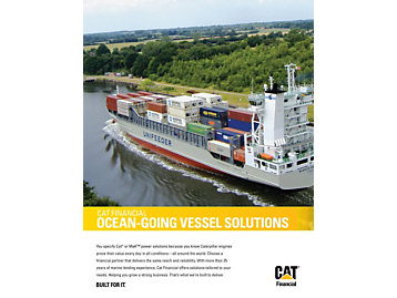 Cat Financial Ocean Going Vessel Solutions