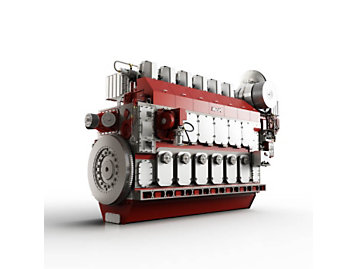 M46 Dual Fuel Engine