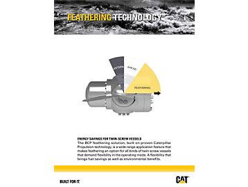 توفير الطاقة للسفن ذات مراوح الدفع المزدوجة