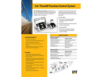 Sistema de Control de Precisión Cat Three60