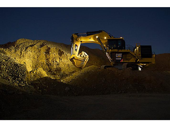Escavatore idraulico da miniera 6020B