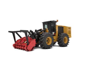 Tractores de preparación del sitio