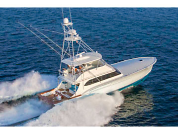 The Lisa K Yacht - The first yacht to be outfitted with Cat Three60 Precision Control