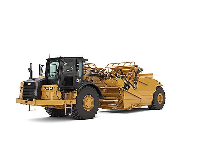 Cat Wheel Tractor : Cat k wheel tractor scraper caterpillar