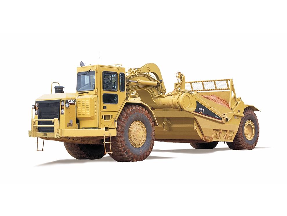 Cat Power Wheels Tractor : New g wheel tractor scraper for sale whayne cat