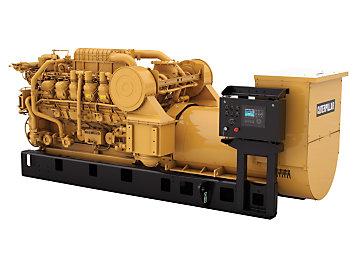 Juego de DGB™ instalado en el Grupo Electrógeno 3512C de SWN