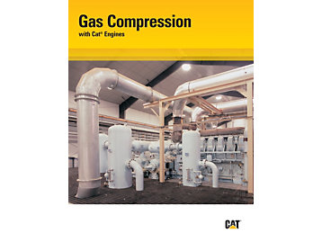 Gas Compression with Cat Engines