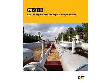 G3500B - Cat Gas Engines for Gas Compression Applications