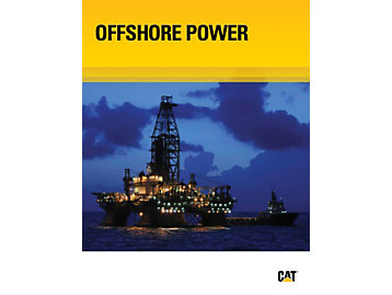 Brochures sur la production et le forage offshore