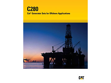 C280 - Cat Generator Sets for Offshore Applications