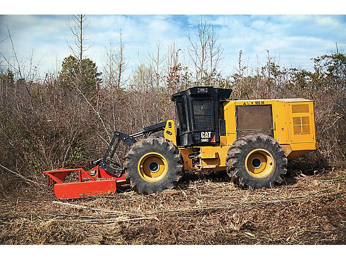 Tractor de preparación del sitio de trabajo 586C