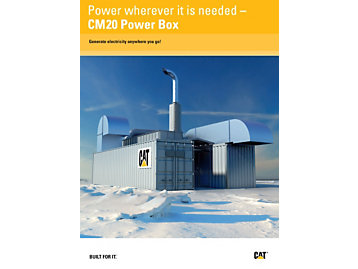 Power wherever it is needed – CM20 Power Box
