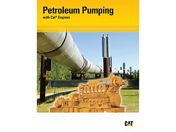 Petroleum Pumping with Cat Engines