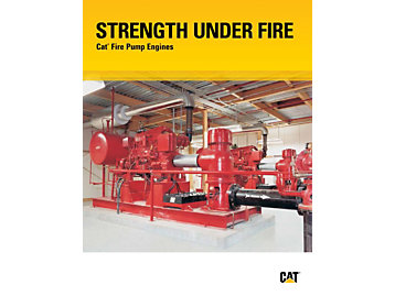 Strength Under Fire - Cat Fire pump Engines