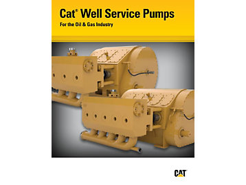 Cat Well Service Pumps