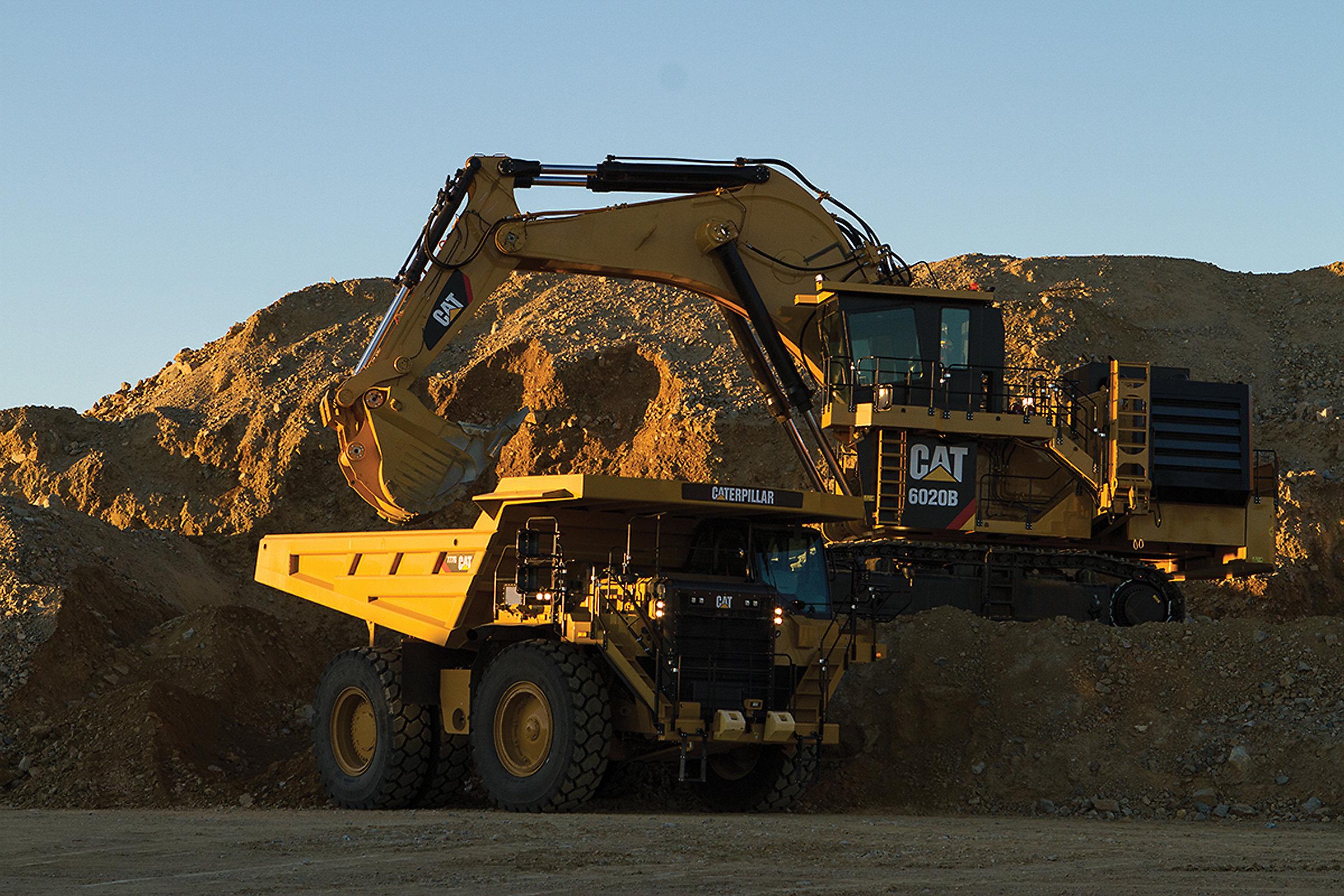 Coal strip mine hydraulic shovel inquiry answer