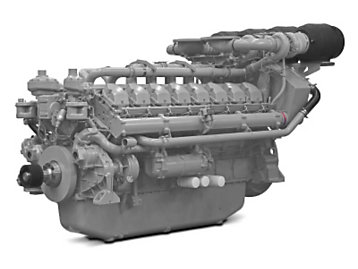 The 4016 range diesel engines