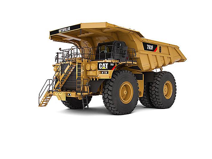 Caminhões de Mineração 793F