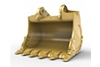 25m³ (32.7yd³) Iron Ore bucket for the 6060 Hyd Mining Shovel