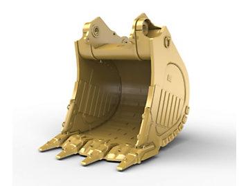 Foto del 4.6m? (6.0yd?) Heavy Rock Bucket for the 6015 Hyd Mining Shovel