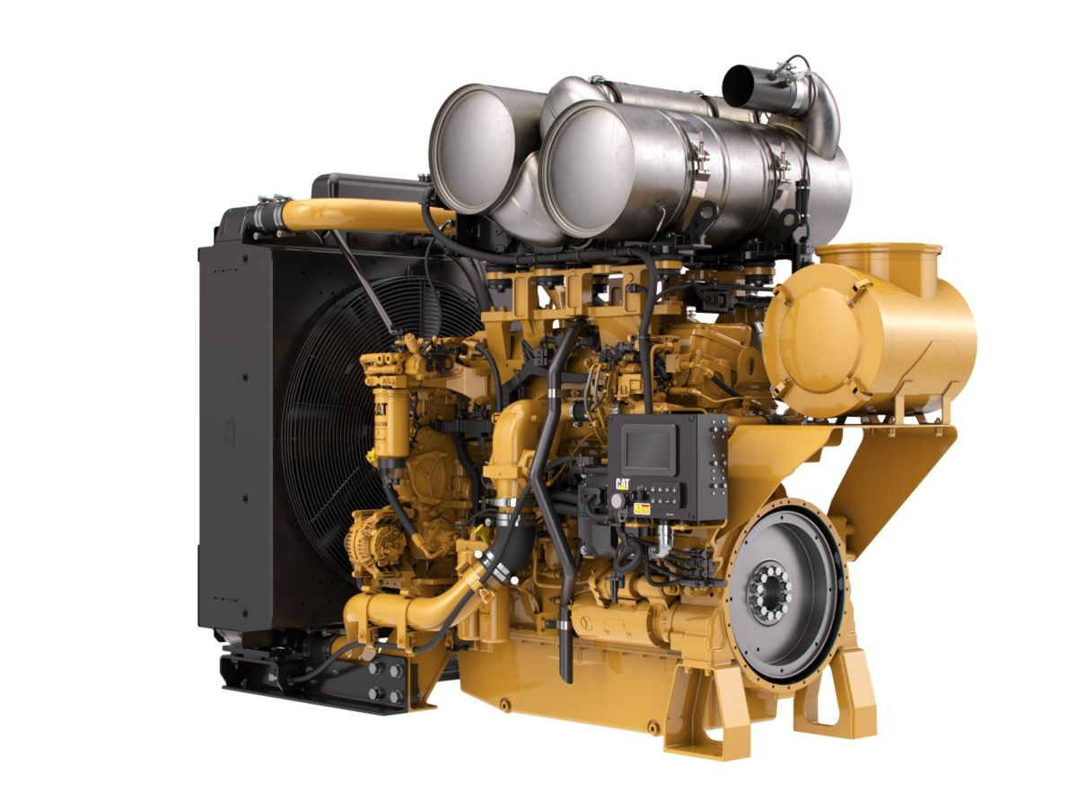 C18 ACERT™ Tier 4 Industrial Power Unit  Diesel Power Units - Highly Regulated