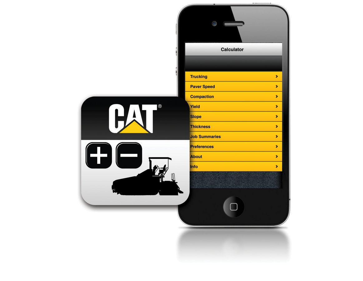 Paving Production Calculator App