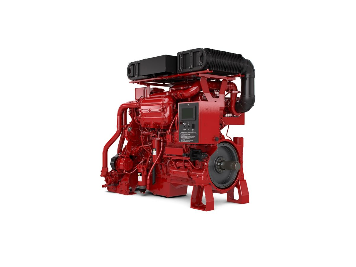 C18 ACERT Fire Pump Diesel Fire Pumps - Highly & Lesser Regulated