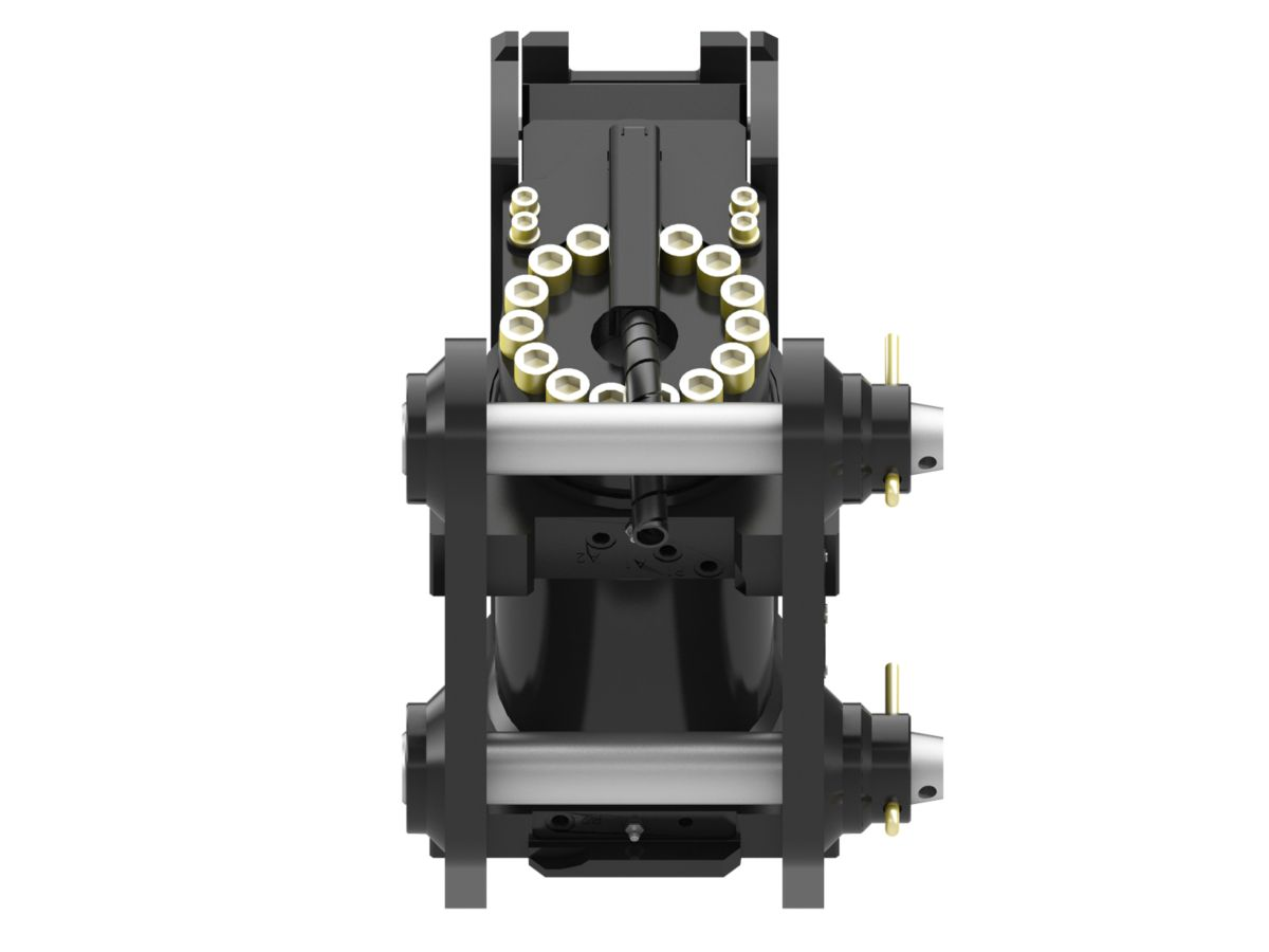 Pin Lock Quick Coupler : New hydraulic dual lock tilt coupler ton for sale