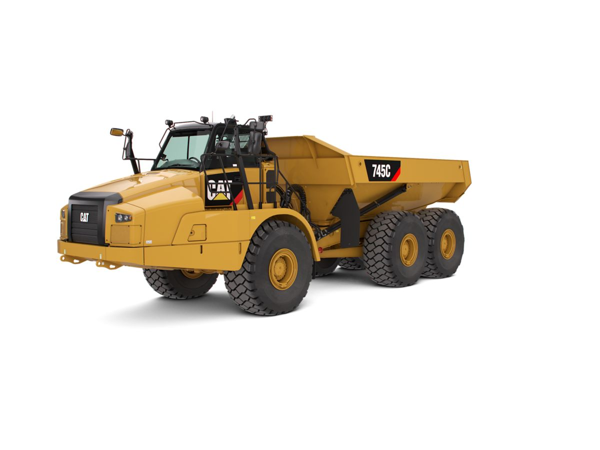 New CaterpillarArticulated-Trucks