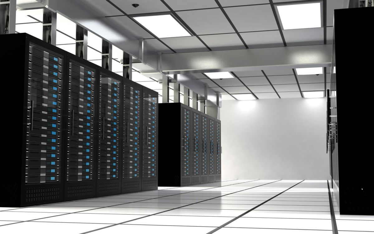 Data Centre storage banks image