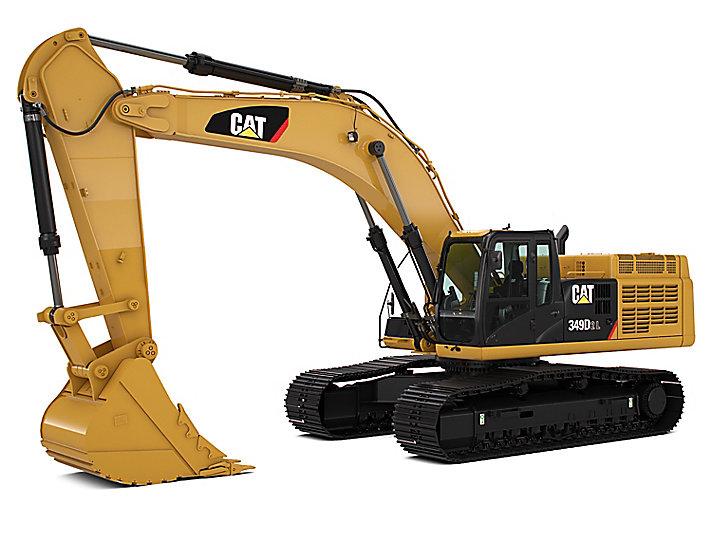 349D2/D2 L 大型液压挖掘机